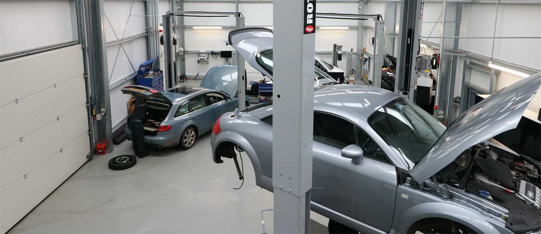 Our customers deal directly with the technicians